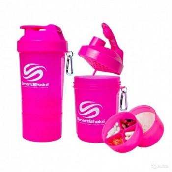 SmartShake Original2Go Neon Pink 600 ml