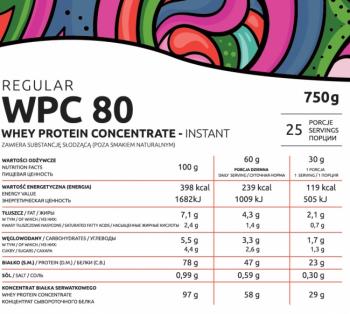 KFD Regular WPC 80 750 gr