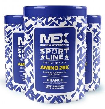 MEX Amino 20K 500 gr & 1000 gr