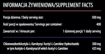 KFD ALCAR - 200 G (Acetyl L-Carnitine)