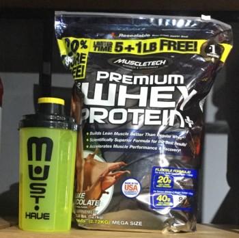 Muscletech 100% Premium Whey Protein Plus 2,7 kg + ШЕЙКЕР