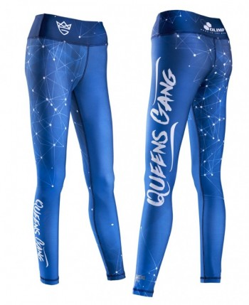 Live & Fight Leginsy WOMEN'S LEGGINGS GALAXY blue