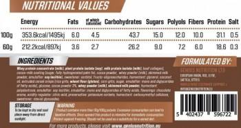 Genius Nutrition iBar 24 X 60 gr