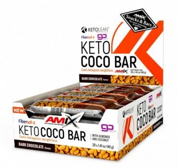 AMIX KETO COCO BAR BOX 20 X 40 gr.