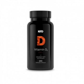 KFD Vitamin D3 2000IU - 240 tabs.