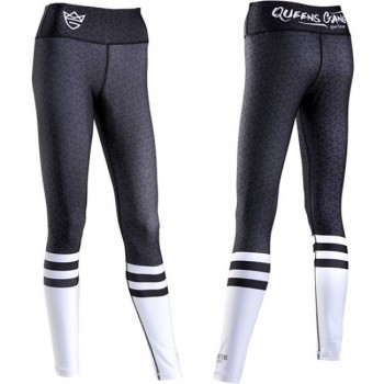 Leginsy Live & Fight WOMEN'S LEGGINGS - HIGH SOCK Black&White