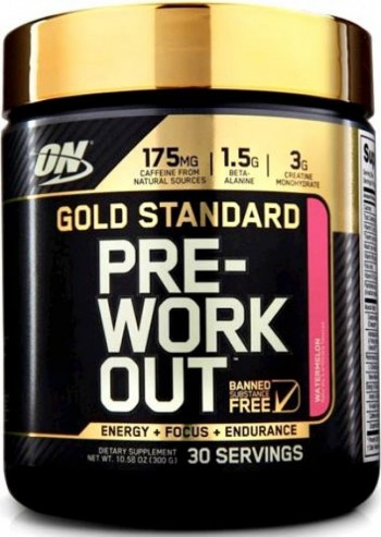 ON PRE-WORKOUT Gold Standard 30 serving 1 + 1