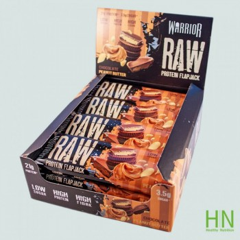 Warrior Raw Protein Flapjack 12 x 75 gr