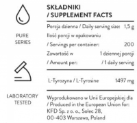 KFD PURE TYROSINE - 300 G
