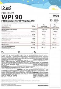 KFD Premium Isolate 90% - 700 gr
