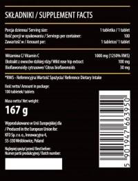 KFD Nutrition Vitamin C+ 1000 мг (100 таб.)