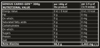 Genius Nutrition  Carnogen Beta-Alanine 300 gr