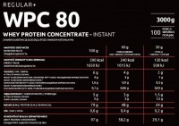 KFD REGULAR WPC 80 - 3 kg