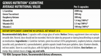 Genius Nutrition iCarnitine 90 капсул