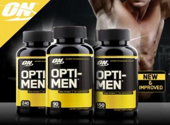 ON OPTI-MEN 90 - 150 - 240 tab