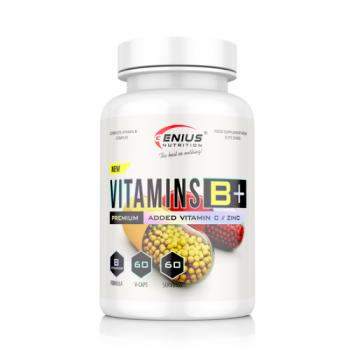 Genius Nutrition  VITAMINS B+ 60 caps