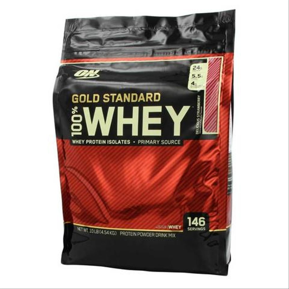 OPTIMUM NUTRITION 100persen WHEY GOLD STANDARD LBS 10